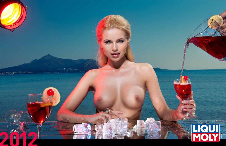 Liqui Moly - эротический календарь на 2012 год
