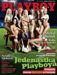 Playboy Poland october 2011 - Ready for Euro / Check Stadium by Szymon Brodziak