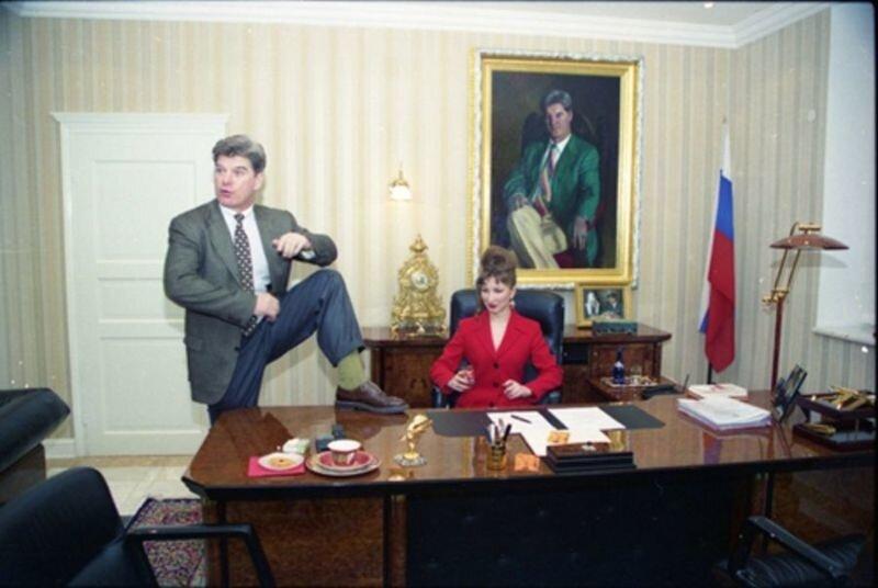 Ю. Луньков. Владимир Брынцалов - кандидат в президенты. Москва. 1996