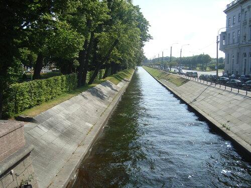 Санкт-Петербург. Лебяжья канавка