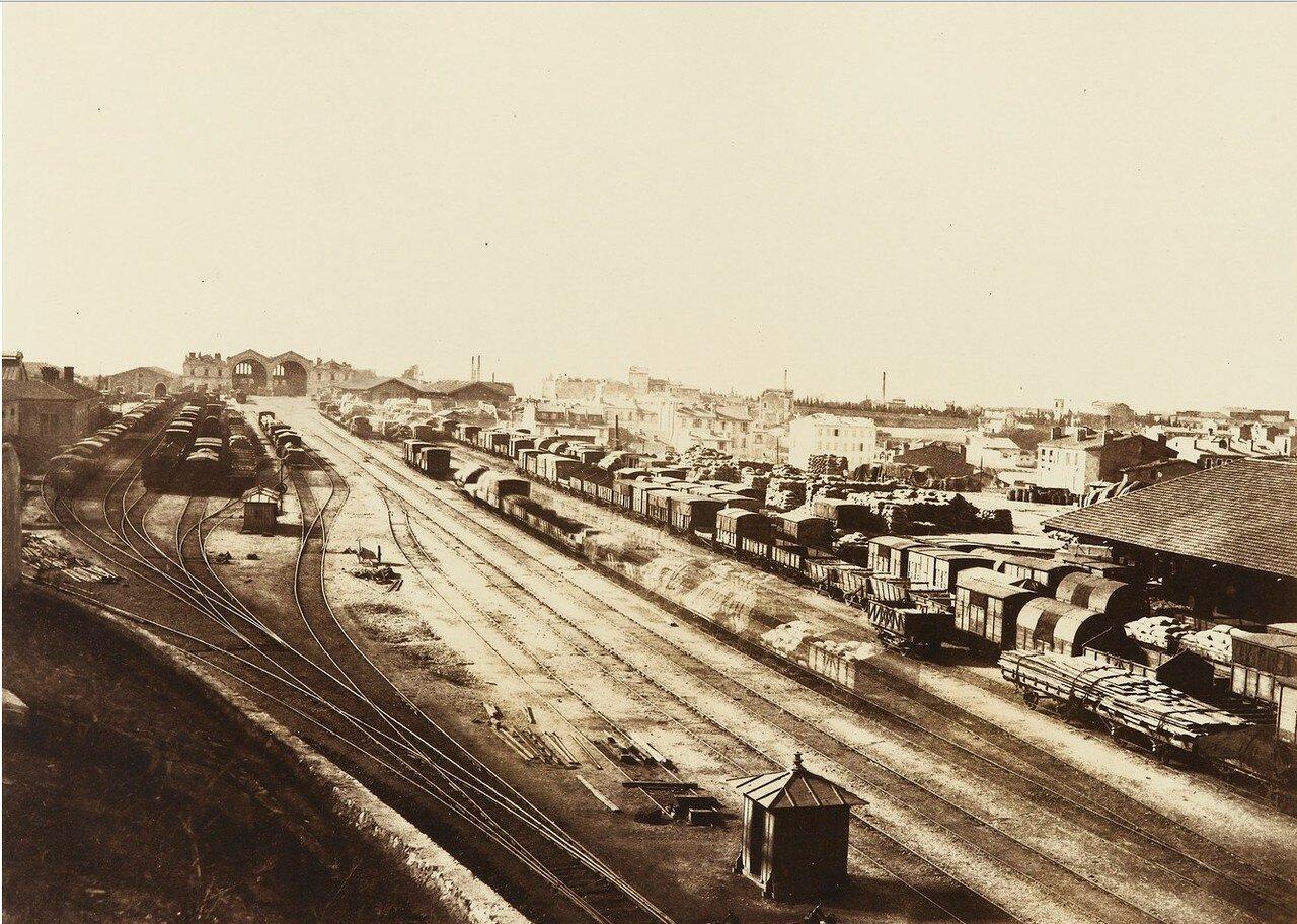 1860-е. Вид подъездных путей