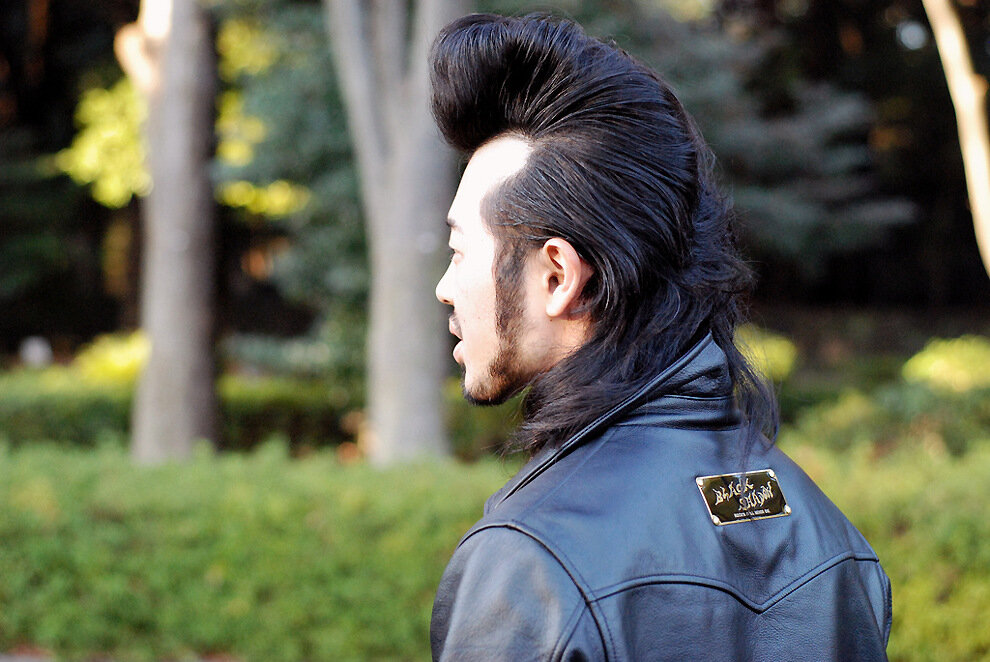 Japanese rock hairstyles