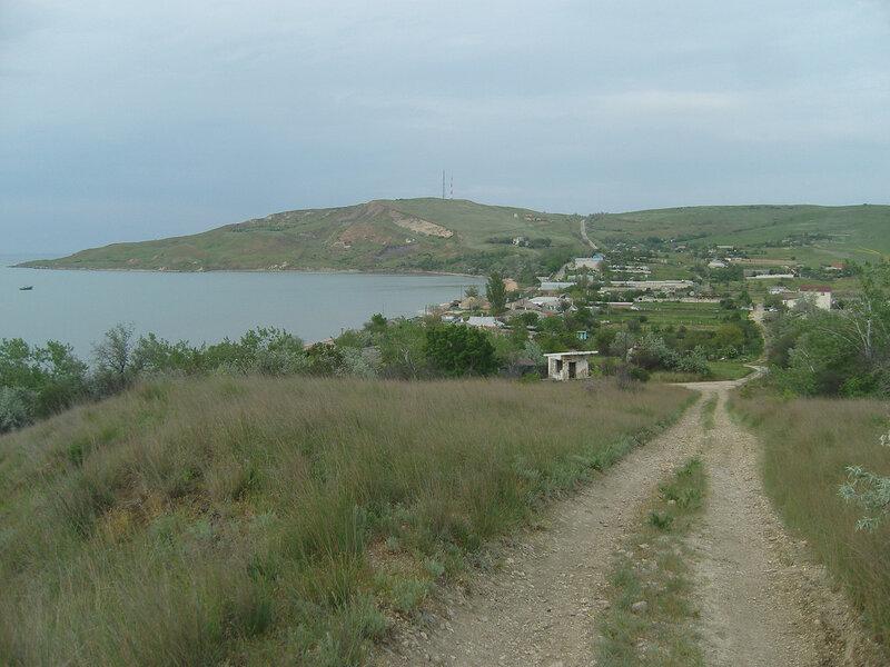 Юркино и бухта Булганак