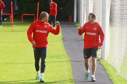 Тренировка Спартака 30-09-2011