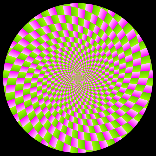 Оптические иллюзии. Психотест