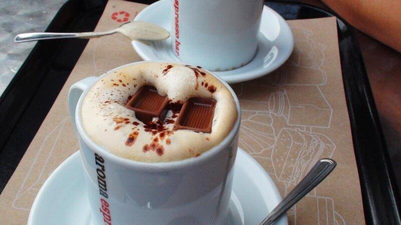 Любимый кофе с любимым человеком...