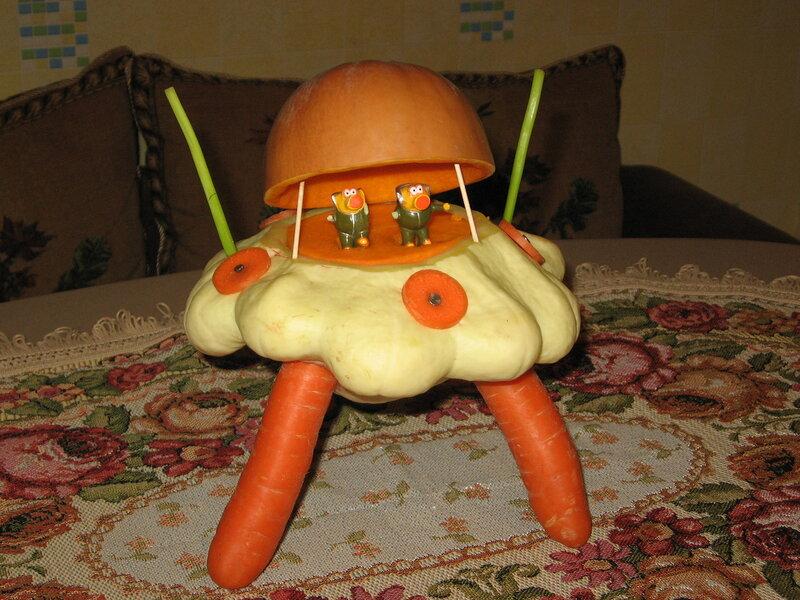 Поделка из овощей своими руками в домашних условиях