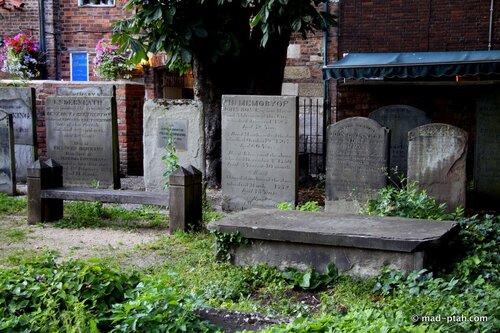 глостер, англия, кладбище