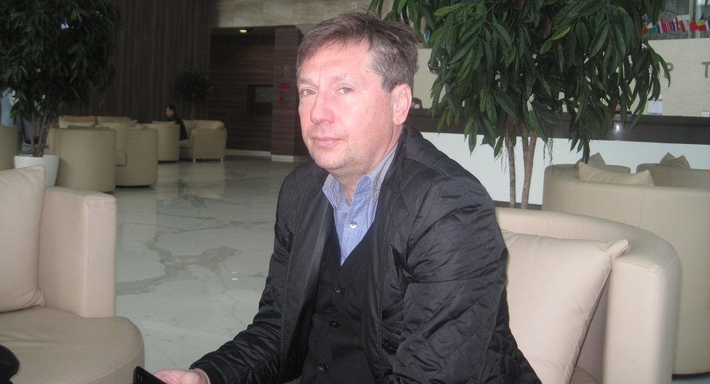 Главный тренер сборной Беларуси по футзалу Сергей Сафонов