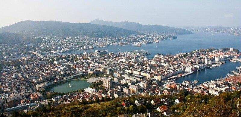 Норвегия красивая и незнакомая !!!