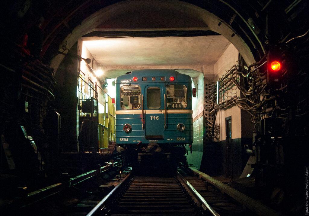 Что делать если поезд остановился в тоннеле