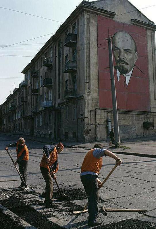 Одесса. Рядом с гаванью. 1988 год.