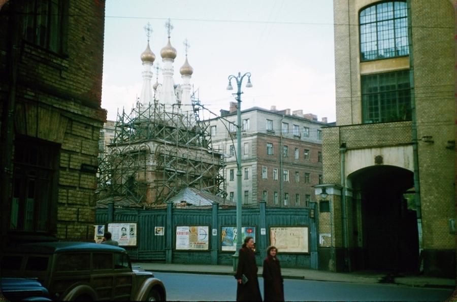 Москва 1956 года в фотографиях Жака Дюпакье