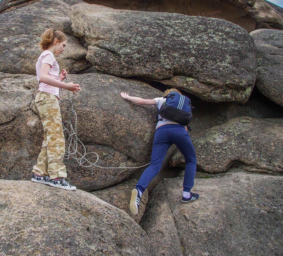 Карина и Надюха