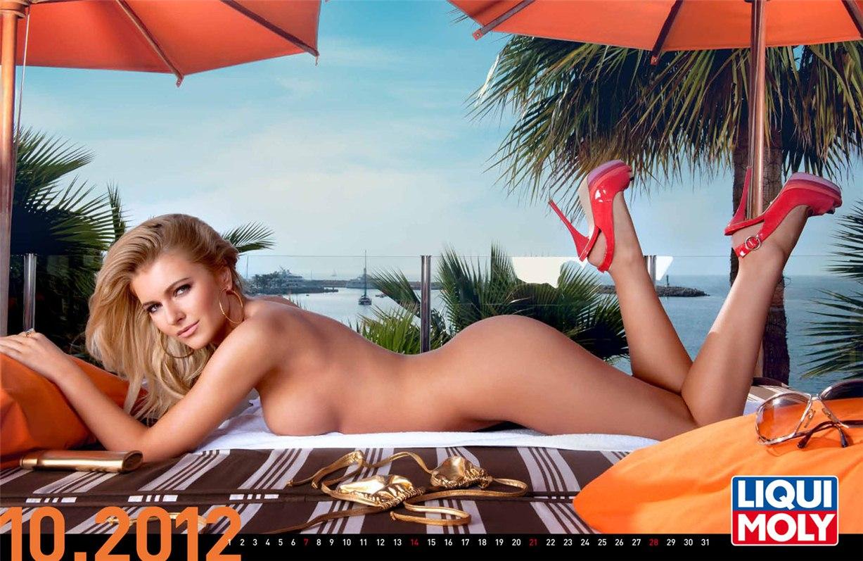 Liqui Moly - эротический календарь на 2012 год - октябрь
