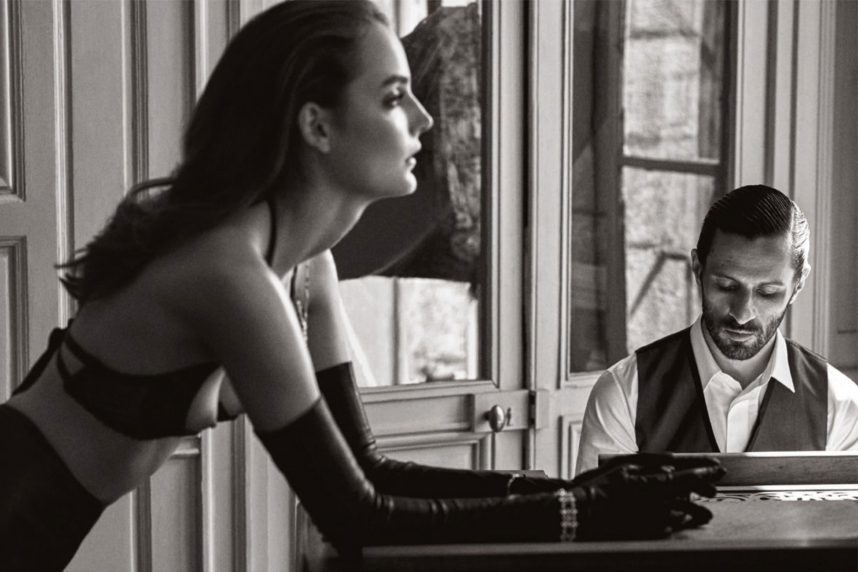 Зузанна Бьох / Zuzanna Bijoch and David Kammenos by John Balsom in Lui Magazine june 2015