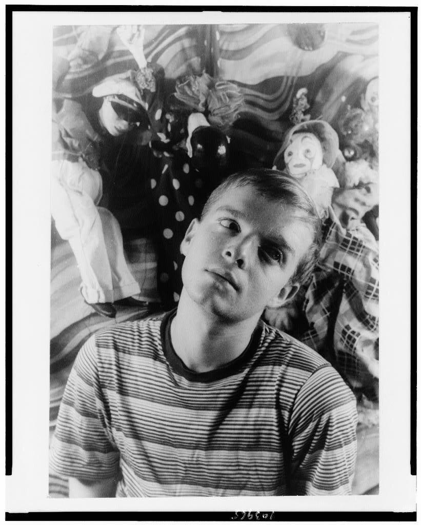 Truman Capote by Carl van Vechten photograp