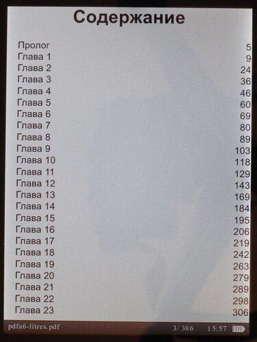 Prestigio PER3072B - скриншот, форматы