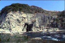 Пещера iwaya на острове Эносима.