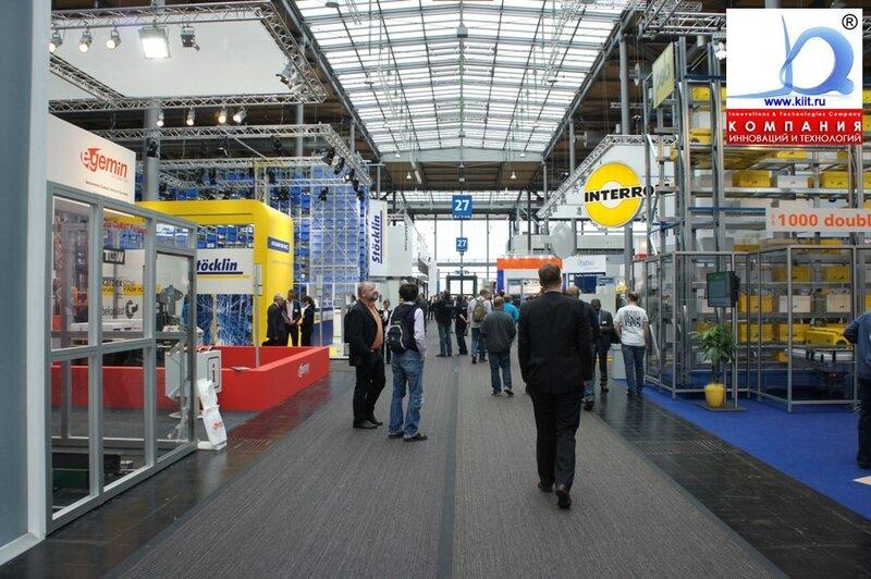 CEMAT 2011 известные бренды STOECKLIN, INTERROLL