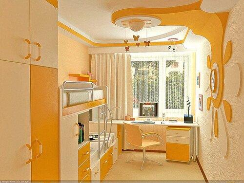 Мебель в детскую комнату для двоих детей своими руками