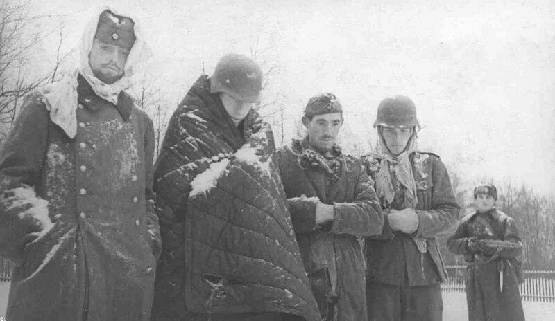 Битва за Москву, пленные немцы, немецкие военнопленные, немцы в плену, немцы в советском плену, немецкий солдат