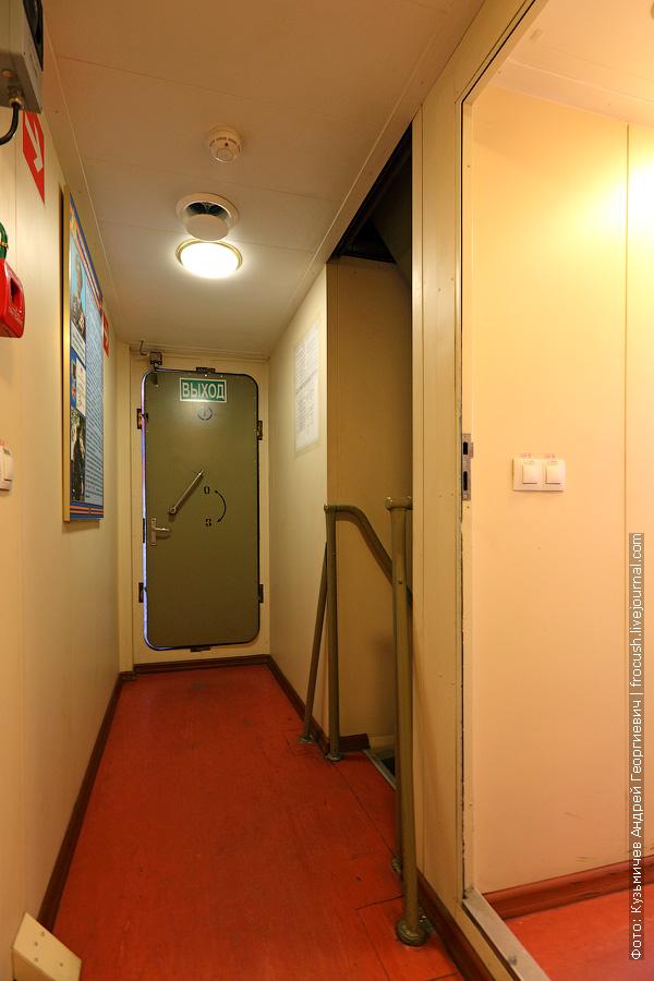 коридор фотография многоцелевой пожарно-спасательный корабль Полковник Чернышев