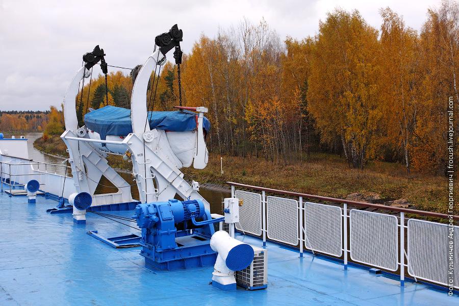 октябрь 2011 года. Канал имени Москвы