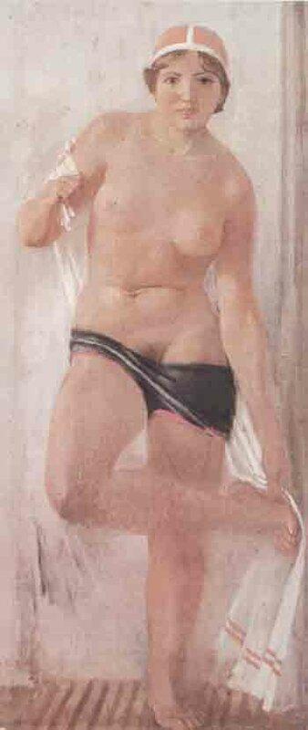 Самохвалов А. После кросса. 1935 г.
