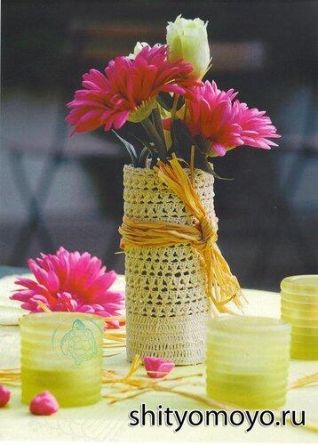 Поделки своими руками: вазочка
