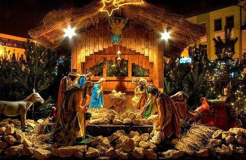 Христиане отмечают Рождество Христово
