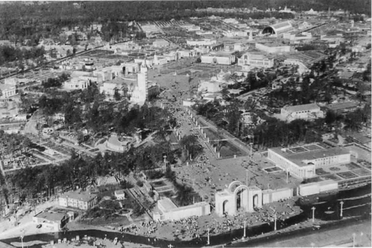 1939 Общий вид ВСХВ. Фотография с самолета.jpg