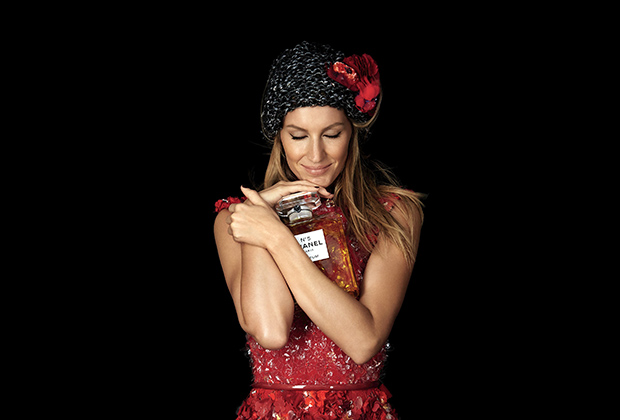 Жизель Бундхен прорекламировала Chanel №5