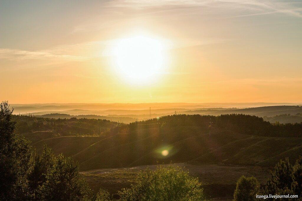 Осеннее солнце Сибири
