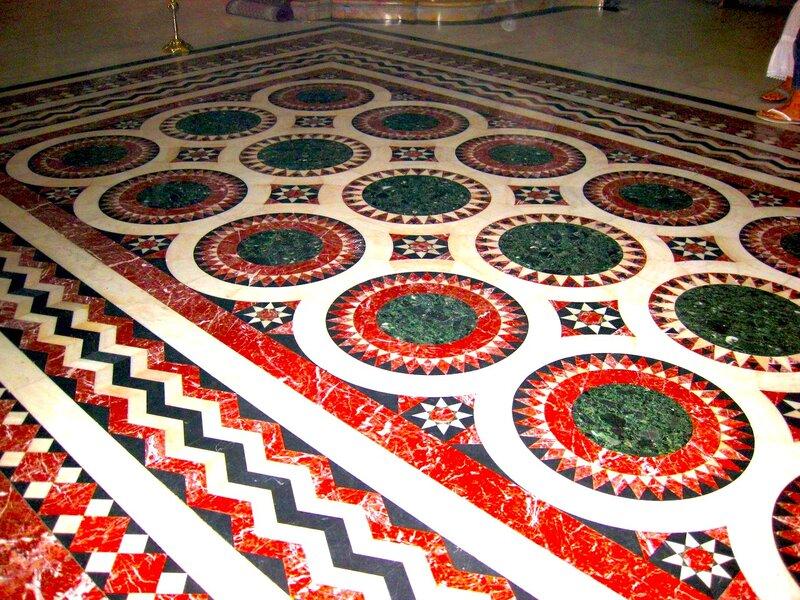Мозаика пола Храма Воскресения Господня