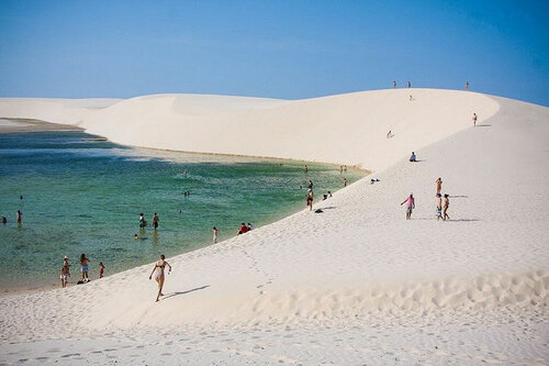 Go2life.net • Простыни Мараньяна. Удивительная пустыня в Бразилии