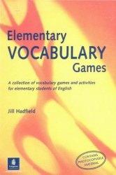 Книга Elementary Vocabulary Games