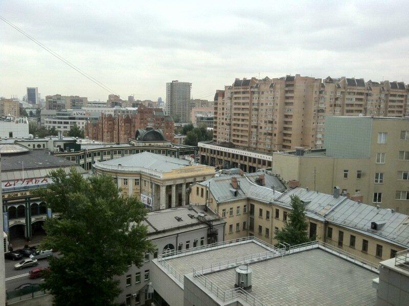 Новослободская. Вид из лериного окна