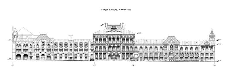 Политехнический музей. Центральная часть