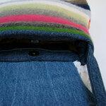свитер + джинсы + вязаная салфетка = сумка. как сделать сумку из свитера.