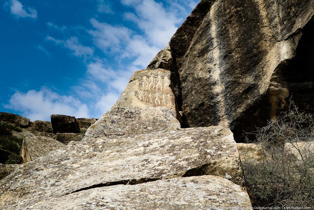 Азербайджан. Гобустан: путешествие в палеолит