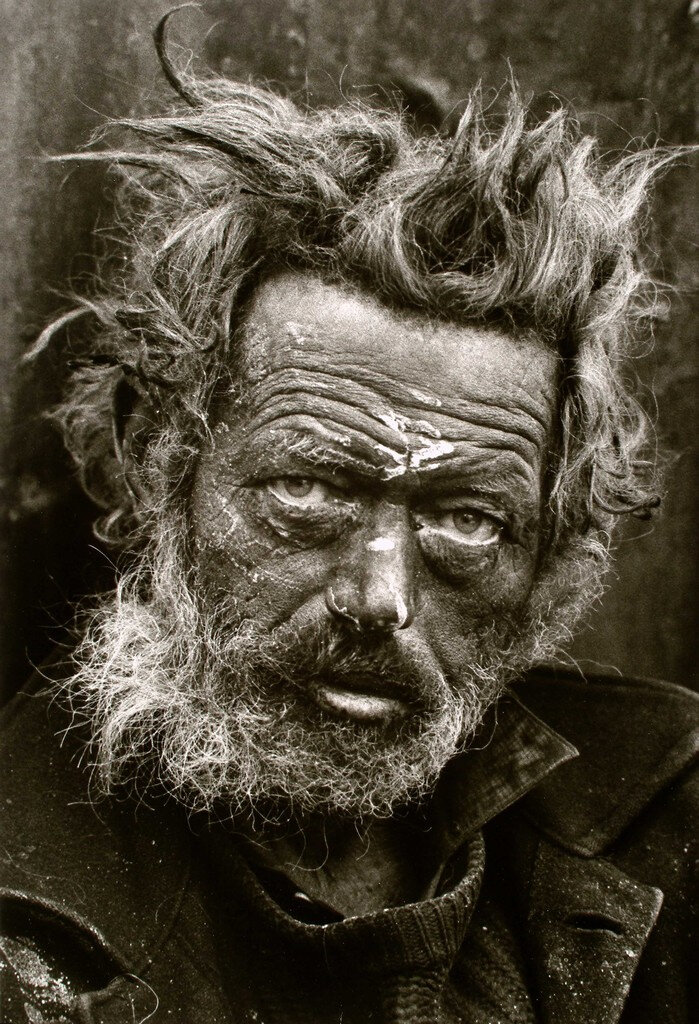 Irish Vagrant by Don McCullin 1968