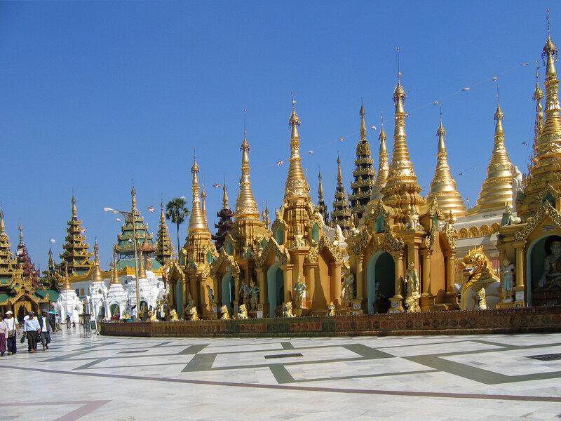 Shwe Dagon Pagoda, Yangon