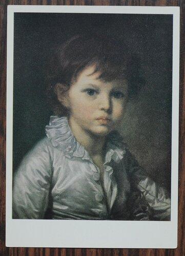 Портрет П.А. Строганова в детстве. 1778 г.