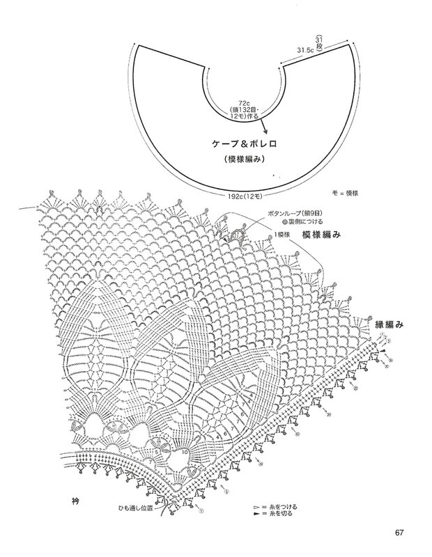 Салфетка павлинье перо крючком схема необычные6