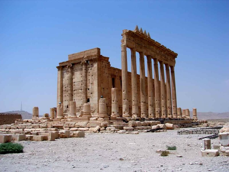 Закаблуцкая Елена - храм Бела в Пальмире