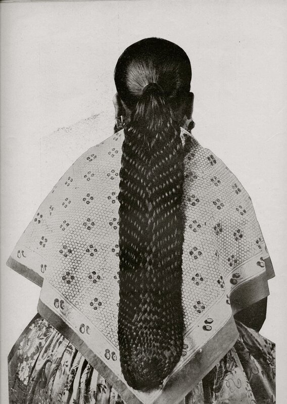 Twenty-stranded braid - Madrid 1929
