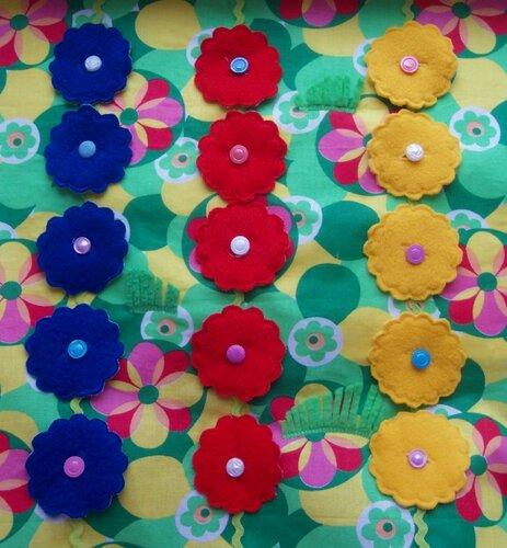 Развивающие книжки для детей... Страничка Цветочная полянка!