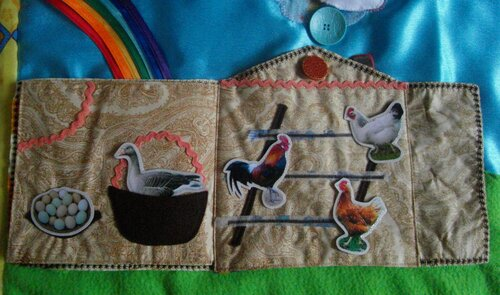 Активные элементы развивающего коврика... Волшебный игровой домик