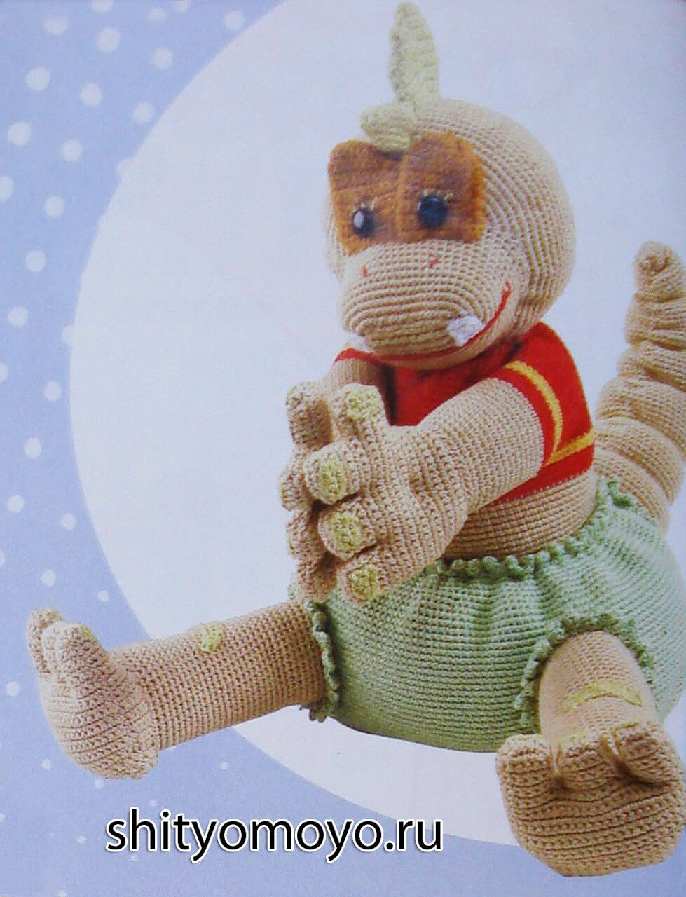 игрушки своими руками динозавр
